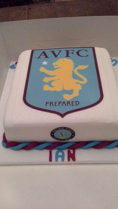 Aston Villa Cake | Pretty Witty Cakes