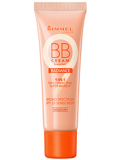 This Best of Beauty-winning illuminating Rimmel London BB cream is more like a medium-coverage foundation; it covers blemishes and marks and leaves skin glowing.
