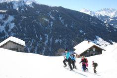 Schneeschuhwandern am und um den Kristberg im Montafon - https://www.kristberg.at/winter-montafon-schneeschuhe.html