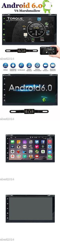 Video In-Dash Units w GPS: 7 Hd Android 6.0 Double 2 Din Car Dvd Stereo Radio Gps Wifi 4G Obd2 Mirror Link -> BUY IT NOW ONLY: $228.9 on eBay!