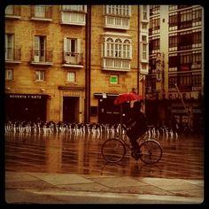 raining bike