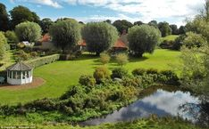 The property comes with 5.5 acres of gardens bordered on the western side by the…