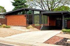 Denver real estate broker Adrian Kinney features MCM mid-century modern homesfor sale in Harvey Park, Krisana Park, Arapaho Acres, Lynwood and Englewood, Colorado.