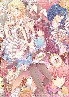 Inu X Boku  Ririchiyo Shirakiin, Soushi Miketsukami, Nobara Yukinokouji, Kagerou Shoukiin, Karuta Roromiya, Zange Natsume