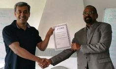 Congratulations Vishwanath D S, Senior Bureaucrat from the Indian Administration Services (Retd), on receiving your Prestigious NLP Practitioner certification   #NLP #Training from Anil Dagia in #Mumbai, #Pune ( #India ) #ICF #NLP #PRACTITIONER #DUAL #Certification #Life #Coach Training  FEB #Pune - http://www.anildagia.com/training-calendar/icf-certification/anil-dagia-s-icf-nlp-practitioner-dual-certification-training-feb-2017-pune