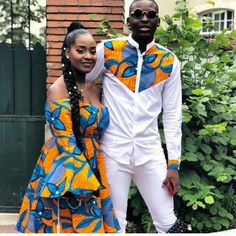 TribeOfAfrik shared a new photo on Etsy African Couple outfits, African Dress, Latest Ankara Styles, Ankara styles Ankara for couples, African couples African Fashion Designers, African Inspired Fashion, African Print Fashion, Africa Fashion, African Fashion Dresses, Fashion Outfits, Mens Fashion, Modern African Fashion, Fashion Ideas