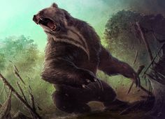 Ulvenwald Bear by JasonEngle....Done for Magic:the Gathering, Dark Ascension. This is the newest of the set.