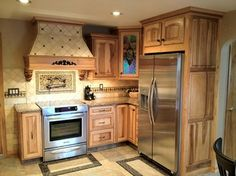 Haas honey hickory cabinets. - Google Search | kitchen | Pinterest ...