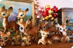 a deer collection.