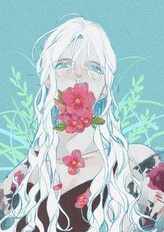 Girl art uploaded by ❍ ℓїʋ เ α ♡ on we heart it Art Manga, Manga Anime, Anime Art, Pretty Art, Cute Art, Fantasy Magic, Image Manga, Estilo Anime, Ecchi