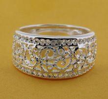 R211 tamaño : 6,7, 8,9 925 anillo de plata, la joyería de plata 925 anillo de moda / bikajzrasr(China (Mainland))