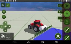 MachineryGuide tractor model  3D #GPS #MachineryGuide #tractor #model #guidance #application #agriculture