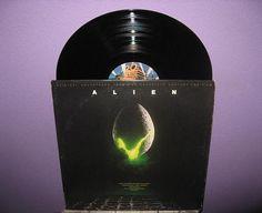 RSD2012 SALE Rare Vinyl Record Alien Original by JustCoolRecords, $15.30