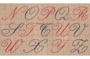 2/2 Cross Stitch Alphabet