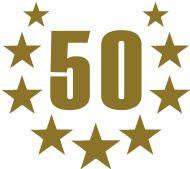 50. Geburtstagsshirt: 50 deluxe