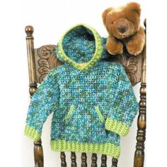 Free Easy Toddler's Sweater Crochet Pattern