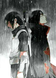 Naruto: Itachi e Sasuke Naruto Gif, Naruto Shippuden Sasuke, Sasuke E Itachi, Sasuke Sakura, Manga Naruto, Madara Uchiha, Boruto, Itachi Akatsuki, Anime Characters