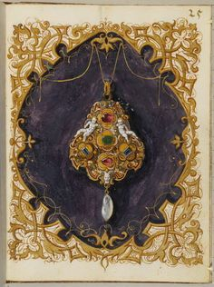 Jewel book of the Duchess Anna of Bavaria (1550)