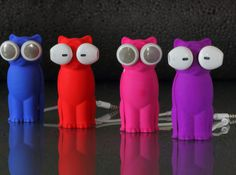 Kitty Cat Earbud Storage Case 3d printed Accessories Gadgets Bud-E Kitty Cat Line Up.