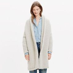 Madewell Anaak™ Handknit Sweater-jacket