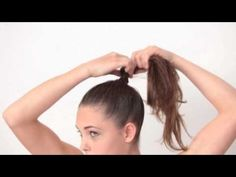love this bun! need to wear new hair styles! by The Crafters Collective
