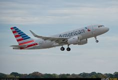 American Airlines A319 with Sharklets (N5007E) at Memphis - photo by Angelo Bufalino
