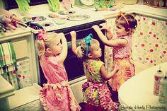 I wanna be 5 and play dress ups again.
