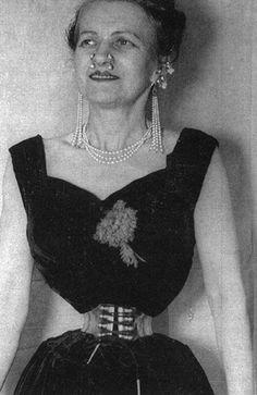 Ethel Granger – her 13 inch waist (1959)