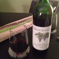 grgich hills (napa valley) 2004, cabernet sauvignon  full bodied with black fruit and licorice flavors