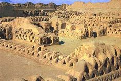 The City of Chan Chan, the ancient adobe city of the Chimu culture is simply immense, covering almost 5,000 acres.