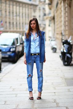 Denim (by Sab FashionLab) http://lookbook.nu/look/4680743-Denim