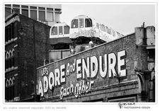 street art print, black and white photo, 8x10 print, graffiti art, London, 'Adore', wall art, modern fine art, monochromatic, still life