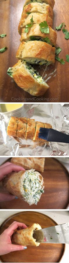 Stuffed Cheesy Bread Recipe