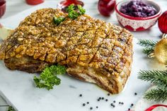 Slik lykkes du med langtidsstekt ribbe | Juletips fra Melange Salmon Burgers, Banana Bread, Steak, Ethnic Recipes, Desserts, Food, Drinks, Ribe, Baking Soda