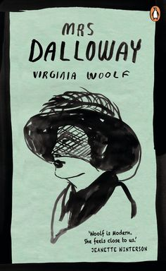 Mrs Dalloway - book cover by Leanne Shapton