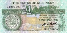 We have our own currency here - same value as the UK pound, but we prefer paper money!
