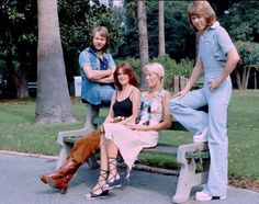 ABBA near the Beverly Hills hotel in Los Angeles in October Promotrip USA Abba Mania, The Beverly, Beverly Hills, Greatest Hits, Pop Group, My Love, Celebrities, Queens, Kisses