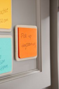 Post-it® Super Sticky Full Adhesive Notes in 3 in x 3 in size have full adhesive for a better stick. Stick a pad to your reminder tile or other surfaces to always have notes within reach. Perfect for reminders for yourself or for family members. Use a different color for each family member to make sure your message gets noticed. Desert Sun color complements any decor. Can be used as refill for the Reminder tile. 2 Pads/Pack.