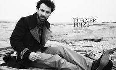 Aidan Turner Covers the Sophomore Issue of Article Magazine image aidan turner 0002
