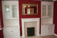 fireplace alcove units harpenden Cabinet Makers, Cupboards, Alcove, Projects To Try, House Ideas, Lounge, Victorian, The Unit, Home Decor
