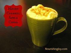 SCD Honey Caramel Apple Cider (*Substitute coconut milk for cream & use SCD legal apple cider...)