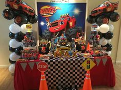 Blaze and the monster machine  Birthday Party Ideas | Photo 8 of 25