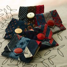 necktie change purse