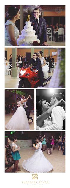 Fotos recepção festa de casamento por Anderson Zomer