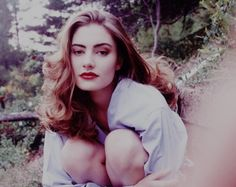 Mädchen Amick, best known for playing Shelly Johnson on Twin Peaks, 1991-92