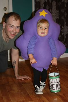 Lumpy Space Princess costume I made for my husband, I mean my daughter :)