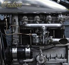 Indian engine detail...