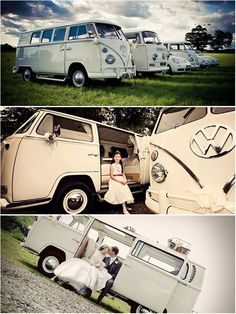 Choose from five amazing vintage and modern VWs!