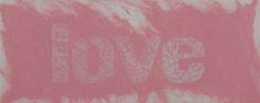 Pink Love, carborundum, 140x80 cm