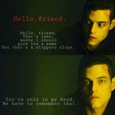 Hello, Friend - Mr Robot